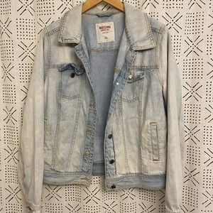 Mossic Target Jean Jacket